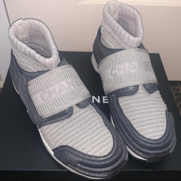 CHANEL Shoes   Chanel Sock Sneaker